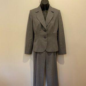 Ann Taylor gray business suit
